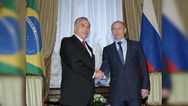 Cooperación entre Rusia y Brasil: desde el fútbol a las altas tecnologías