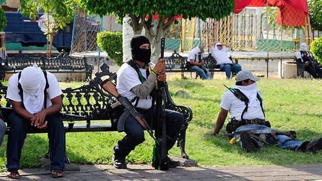 """Líder de las autodefensas en Michoacán: """"No estoy a favor del desarme"""""""
