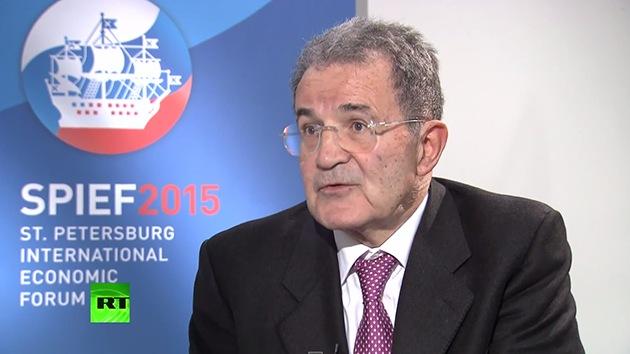 """Prodi: """"Las sanciones de la UE a Rusia resultaron más duras por la actitud de EE.UU."""""""