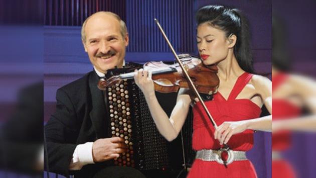 El posible dúo de Vanessa-Mae y el líder de Bielorrusia