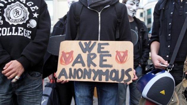 Anonymous carga contra el Departamento de Justicia de EE.UU.