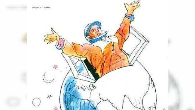 Las historias americanas y antiimperialistas de un ilustrador soviético