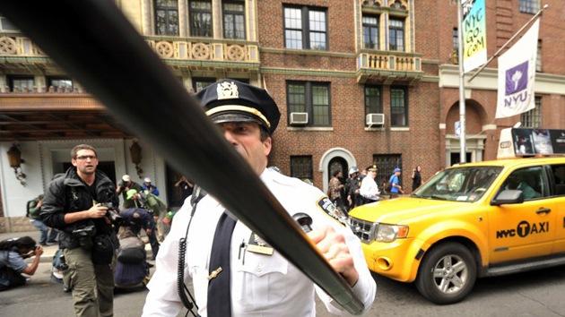 """La Policía de Nueva York """"violó derechos básicos"""" durante las protestas"""
