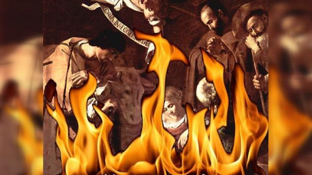 Cuadro de Caravaggio quemado por la mafia