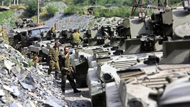 Rusia tuvo un plan de rechazo de la agresión georgiana contra Osetia del Sur