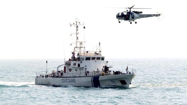 India retiene un barco estadounidense que portaba armas ilegalmente