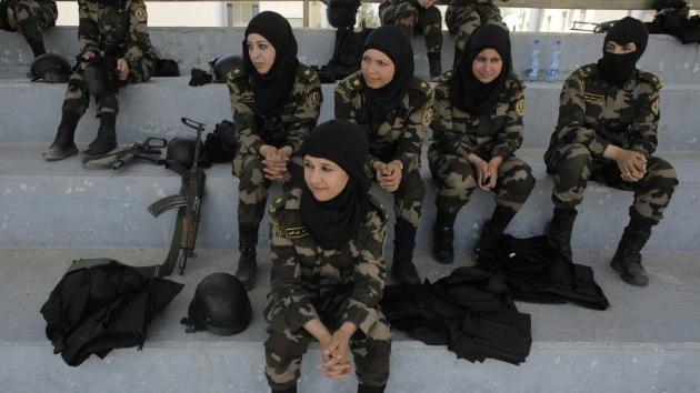 Por primera vez un grupo de mujeres hará parte de la Guardia Presidencial de Palestina