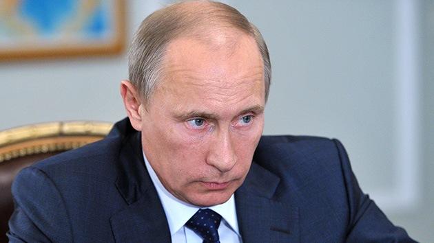 Putin: Todavía no hay pruebas del uso de armas químicas por Al Assad