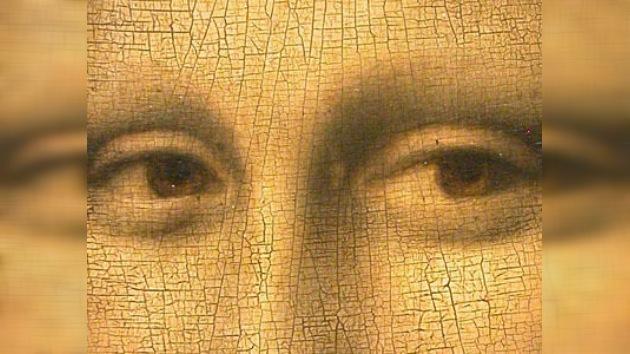 Científicos revelan unas letras enigmáticas en una pupila de 'La Mona Lisa'