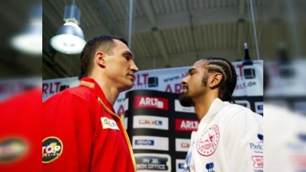 Haye vs. Klichkó: todo listo para el combate más esperado de los últimos ocho años