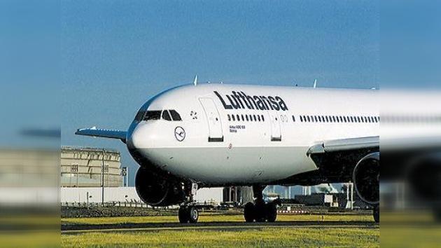 Trabajadores de Lufthansa declaran huelga de 4 días