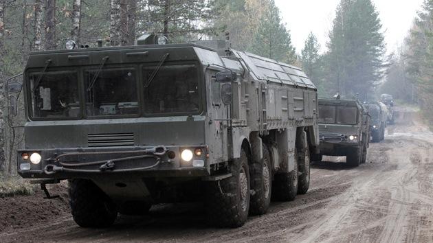 El Ejército ruso recibirá en 2013 los sistemas de misiles nucleares Iskander-M
