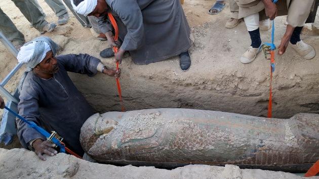 Hallan en Egipto una momia de 5.600 años, anterior a la primera dinastía