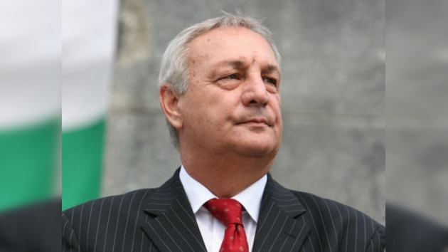 Abjasia da el último adiós al presidente Serguéi Bagapsh