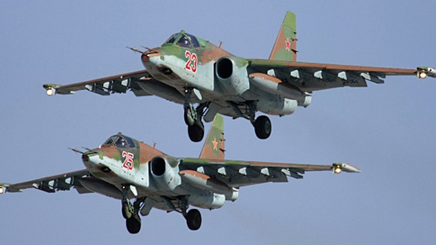 La aviación rusa se reúne en la orilla del río Don para 'jugar a Aviadardos'