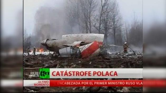 El presidente de Polonia y 95 personas más mueren al estrellarse un avión