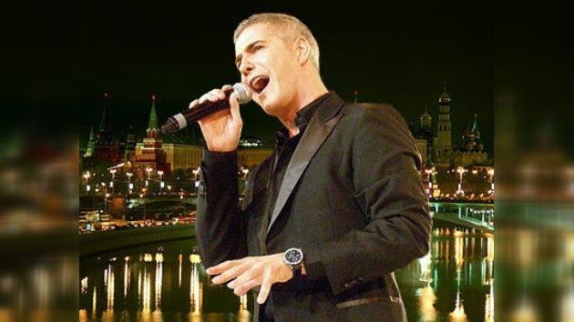 El cantante del estilo 'ópera rock' interpretará para el presidente ruso