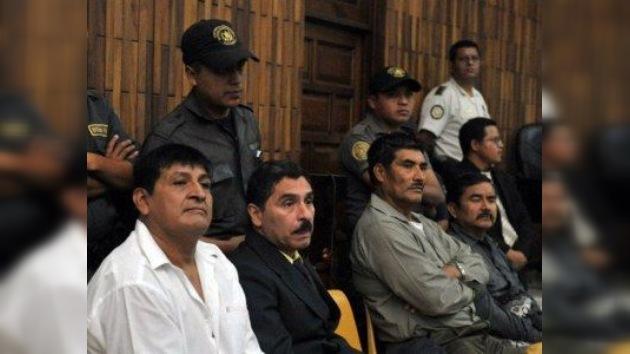 Ex militares guatemaltecos se declararon inocentes de la masacre de Las Dos Erres