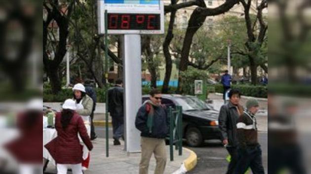Inusual ola de frío polar azota varios países de Sudamérica