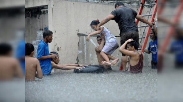 Tormenta tropical deja al menos nueve muertos en Filipinas