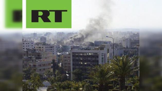 La corresponsalía de RT en Siria resultó dañada por un atentado