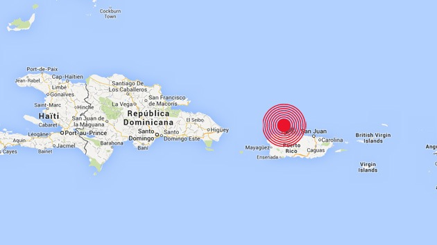 Un sismo de magnitud 6,5 sacude Puerto Rico