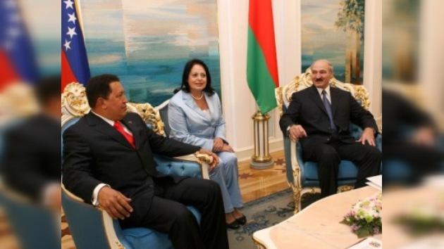 El presidente bielorruso visitará Venezuela