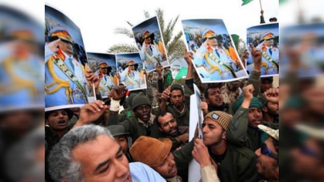 Gaddafi no descarta una posible alianza con grupos radicales islámicos