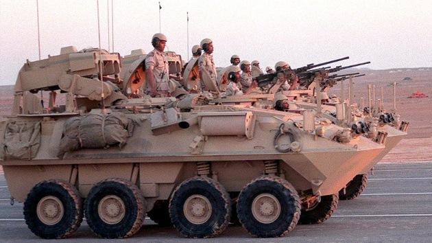 Arabia Saudita concentra tropas cerca de las fronteras de Jordania e Irak