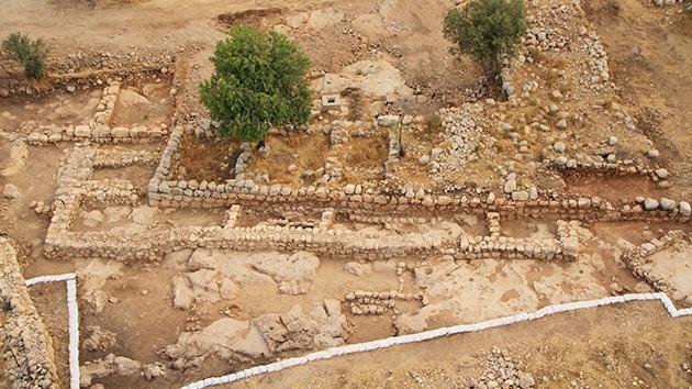 El palacio del rey David, ¿al descubierto?