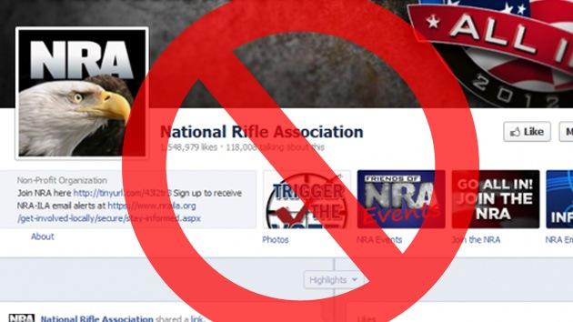 La Asociación Nacional del Rifle desaparece de Facebook tras la masacre en Connecticut