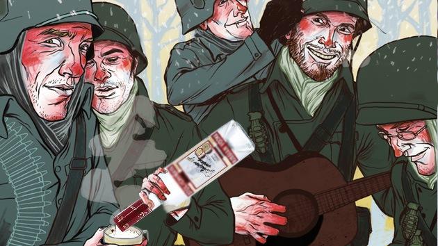 Video: Instructores militares de EE.UU. en Afganistán, borrachos y drogados