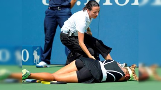 Viktoria Azarenka sufre conmoción cerebral en pleno US Open