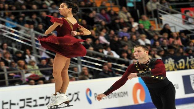 Los patinadores rusos Bazárova y Lariónov ganan el Gran Premio de Japón