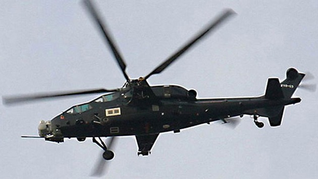 Una compañía de EE.UU. asesoró a China en la creación de un helicóptero de combate