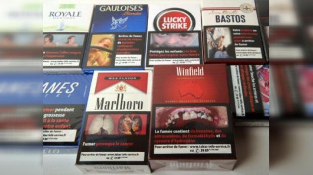 Lucha contra el tabaquismo en Europa: cajetillas de tabaco blancas y sin marcas