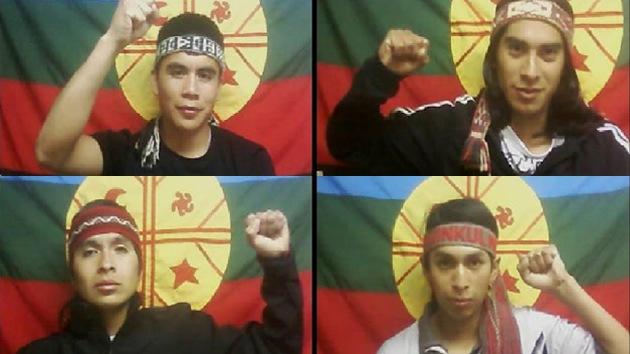 Reos mapuches en huelga de hambre exigen la devolución de tierras indígenas