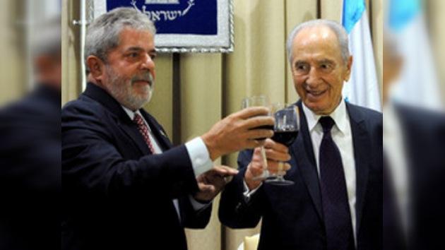Brasil se postula como mediador en el proceso de paz de Oriente Medio