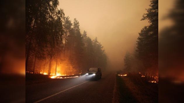 Daño por incendios forestales en Rusia avaluado en US$ 400 millones