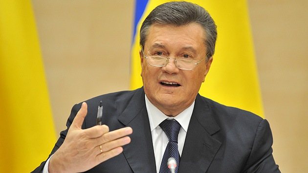 Yanukóvich explica cinco condiciones para evitar la guerra civil en Ucrania