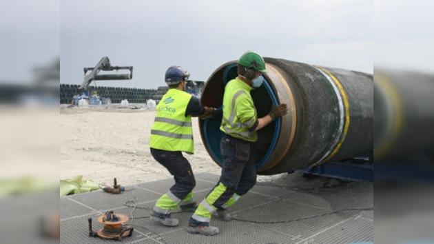 La primera línea del Nord Stream une Rusia y Alemania