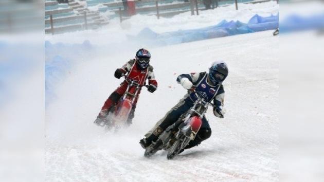 Arrancó en Rusia el Campeonato Europeo de Speedway sobre hielo