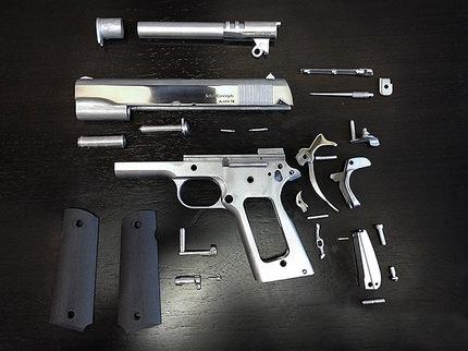 Impresora 3D imprime su primera arma de metal