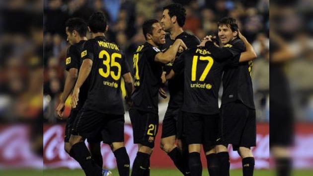 El FC Barcelona mantiene la presión sobre el Real Madrid y Messi es el nuevo goleador