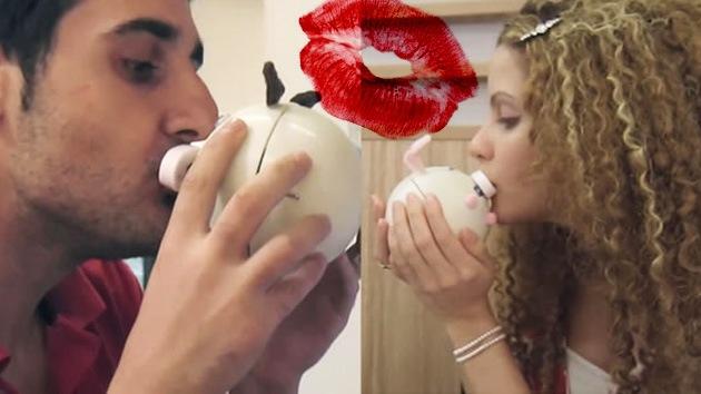 Crean 'Kissenger', un robot de silicona para besarse por Internet