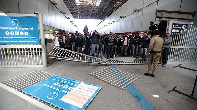 La Justicia declara ilegal la huelga del metro de São Paulo que amenaza al Mundial