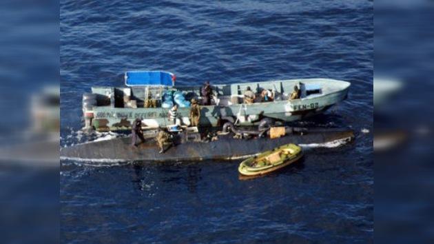 Decomisan un narcosubmarino en el Caribe colombiano