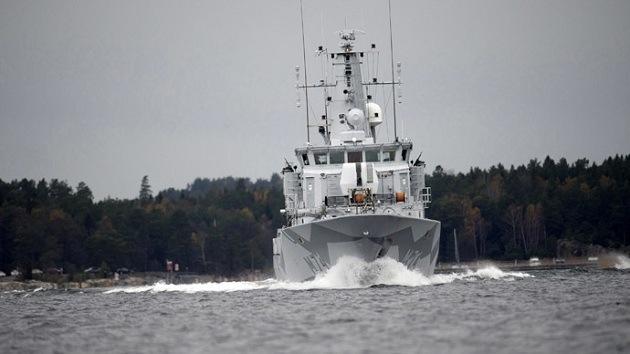 Suecia confirma que un buque misterioso violó sus aguas territoriales