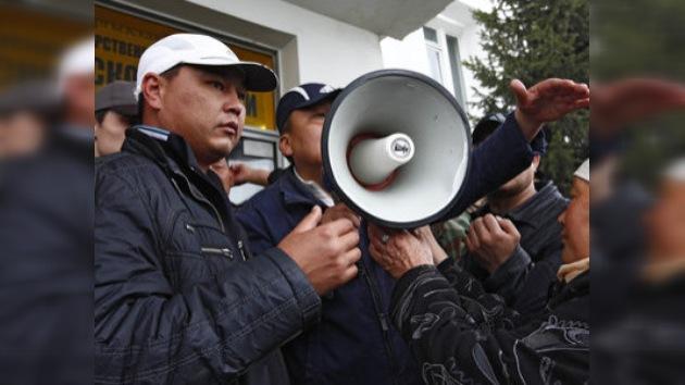 Los partidarios del ex presidente kirguís intentan tomarse la revancha