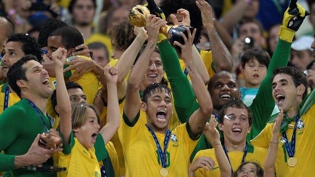 Brasil suma su cuarto título de la Copa Confederaciones tras golear a España